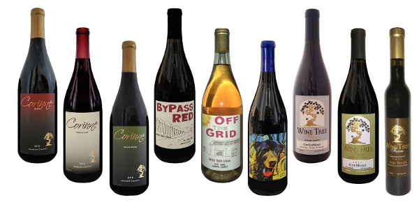 Corinne's Wine Club wines