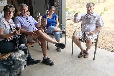 Wine Club members Cheer