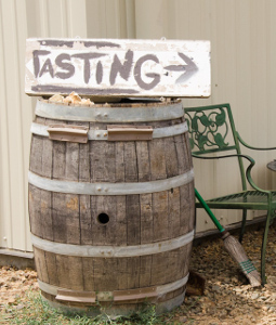 Enter our Amador County Winery Tasting Room