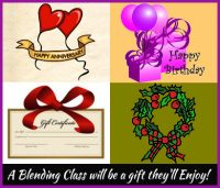 Wine Blending Class – Gift Certificate for 2