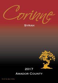 2017 Corinne Syrah