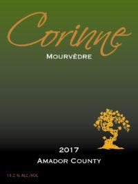2017 Corinne Mourvèdre