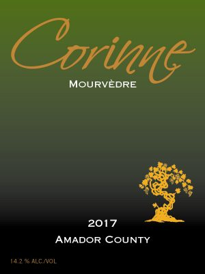 2017 Corinne Mourvedre