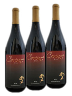 2020 August Special - 3-pack 2017 Corinne Syrah