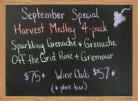 September Monthly Special – Harvest Medley
