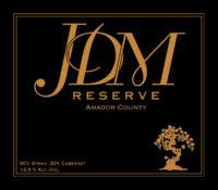 JDM Reserve – A Syrah/Cabernet Blend
