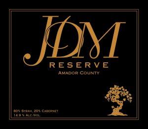 JDm Reserve Syrah/Cabernet